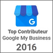 Top Contributeur 2016 - Google My Business